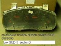 приборка ниссан навара 2008._1